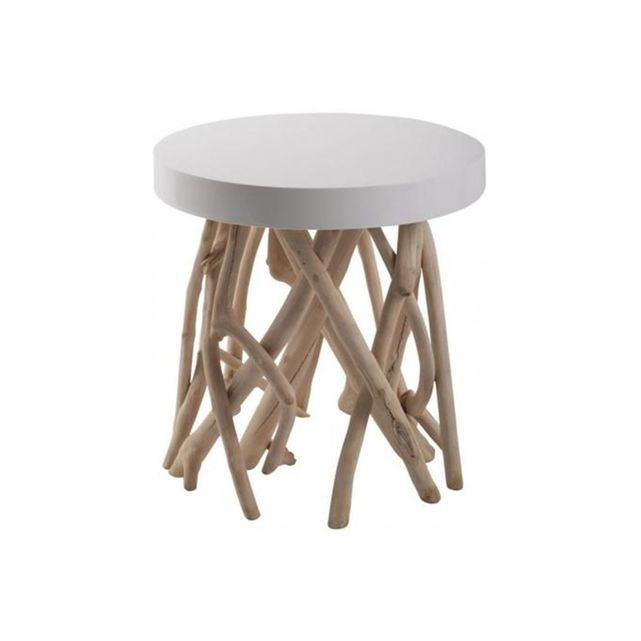 LA REDOUTE INTERIEUR Table basse CUMI en bois de Manguier